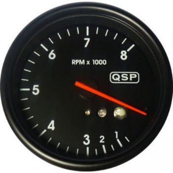 QSP Varvtal 8000 rpm Recall och Shiftlight QMO Tacho 8000 Rev