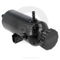 qsp expansionskärl tank svart westcoast motorsport