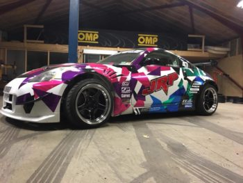 d-004 black champer d004 59 north wheels westoast motorsport drifting car