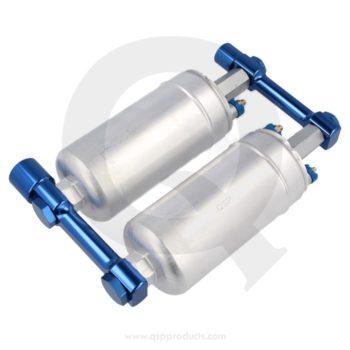 fuel rail linkage for injection pumps bränslepump länkage rail westcoast motorsport blue blå (2)