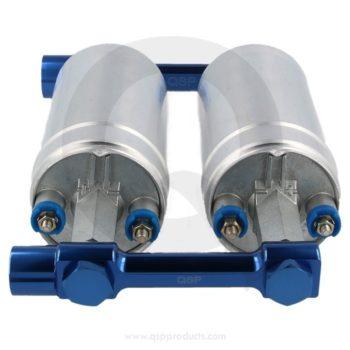 fuel rail linkage for injection pumps bränslepump länkage rail westcoast motorsport blue blå