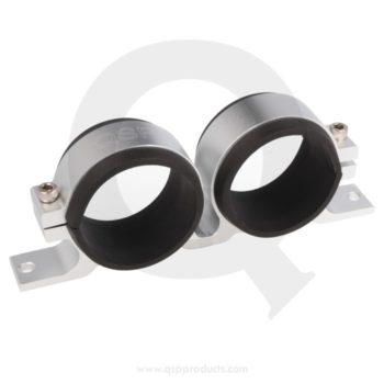 qsp bränslepump bränslefilter hållare pump filter bracket westcoast motorsport double silver
