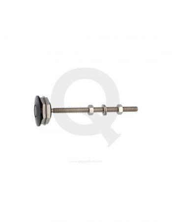 QCLIP-ALZ-S-qsp-fast-latch-small-aluminum- black westcoast motorsport 1