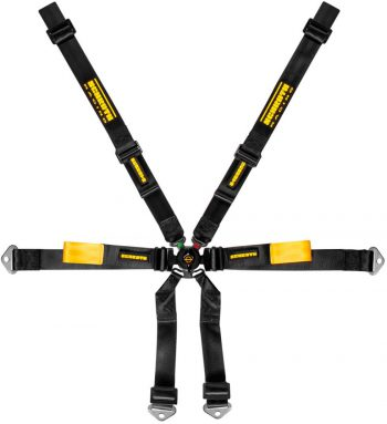 schroth Enduro Porsche 991-981 2x2 harness black westcoast motorsport