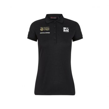 191691020100220_REH F1 RP WOMENS POLO black pike rich energy haas westcoast motorsport front