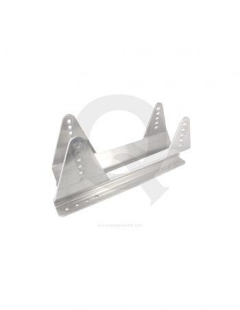 QST-BRACKET-AL-qsp-seat-bracket-aluminum-fia-silver westcoast motorsport
