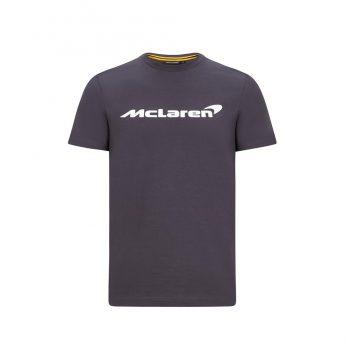 MCLAREN FW MENS ESSENTIALS TEE_antracit_westcoast_motorsport_front