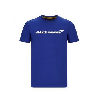 MCLAREN FW MENS ESSENTIALS TEE_blue_westcoast_motorsport_front