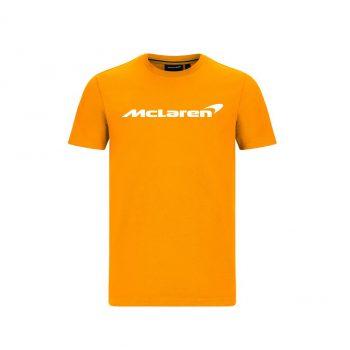 MCLAREN FW MENS ESSENTIALS TEE_orange_westcoast_motorsport_front
