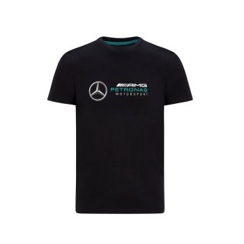 MAPM FW LARGE LOGO TEE westcoast motorsport black front