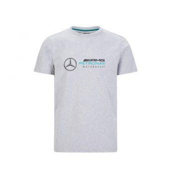 MAPM FW LARGE LOGO TEE westcoast motorsport grey front