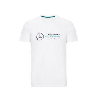 MAPM FW LARGE LOGO TEE westcoast motorsport white front