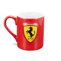 130101029600000 f1 SF FW SCUDETTO SHIELD MUG red front westcoast motorsport ferrari kaffemugg