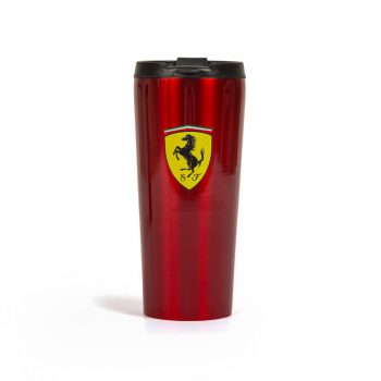 130171076600000 f1 SF FW THERMAL MUG termosmugg westcoast motorsport röd red