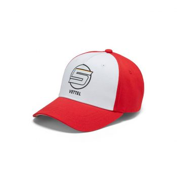 130181040900000 SF FW VETTEL BASEBALL CAP f1 westcoast motorsport front