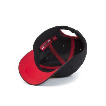 130181044100000 SF FW QUILT CAP F1 Westcoast Motorsport Svart black bottom