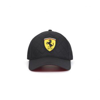 130181044100000 SF FW QUILT CAP F1 Westcoast Motorsport Svart black front
