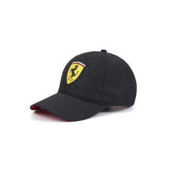 130181044100000 SF FW QUILT CAP F1 Westcoast Motorsport Svart black side