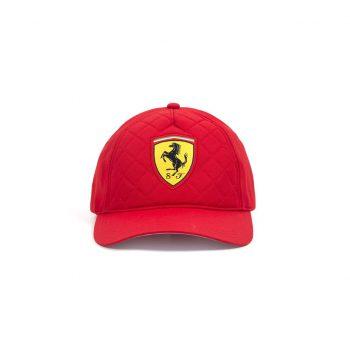 130181044600000 SF FW QUILT CAP F1 Westcoast Motorsport röd red front