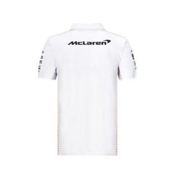 701206581001215_MCLAREN RP MENS TEAM POLO WHITE_westcoast_motorsport_vit_back