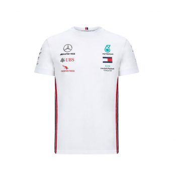 MAPM RP MENS DRIVER TEE westcoast motorsport white front