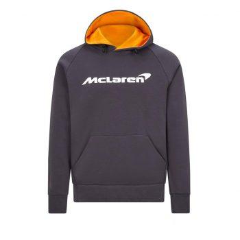 MCLAREN FW MENS ESSENTIALS HOODY Antracit westcoast motorsport f1 front