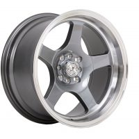 59_North_Wheels_D-004_8-5x17-ET10-4x100-4x114-3_Glossy_gunmetal_polished_lip_westcoast_motorsport_front