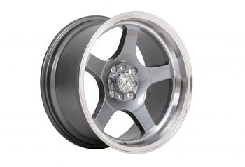 59_North_Wheels_D-004_8-5x17-ET10-4x100-4x114-3_Glossy_gunmetal_polished_lip_westcoast_motorsport_front