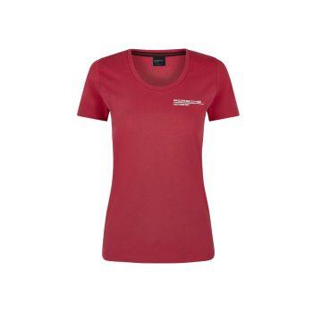304491019600215_PORSCHE FW WOMENS TEE red_tjejmodell_top_westcoast_motorsport_front
