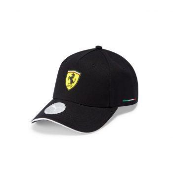 701210950002000_SF PU FW CLASSIC CAP_ferrari_westcoast_motorsport_black_svart_front_side